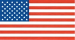 American Flag Super Polyester 3 ft x 5 ft and 4 ft x 6 ft. Box of 100