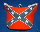 Rebel Battle Flag Confederate Visor - New