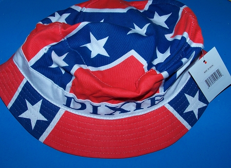 Dixie Confederate Battle Flag Bucket Hat - New