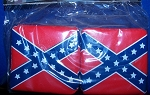 Confederate Battle Flag Hanging Dice