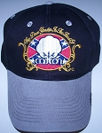 Way down Yonder Cotton Confederate Battle Flag Ball Cap - Hat