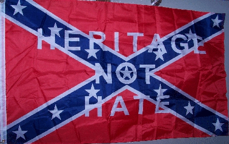 Heritage not Hate Confederate Rebel Super Polyester Battle Flag