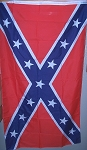 Confederate Rebel Super Polyester Battle Flag
