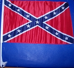 Confederate Car Battle Stick Flag Rebel CSA   New