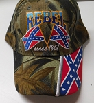 Camo Rebel Since 1861 Confederate Hat