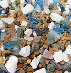 Marble Rock Sea Glass
