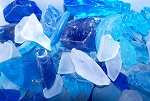 Aqua Blue Teal and Ice Mix Sea Glass