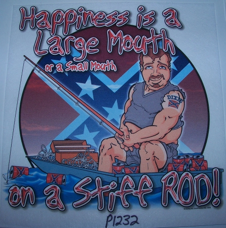 p1232 Happiness is a large mouth Shirt