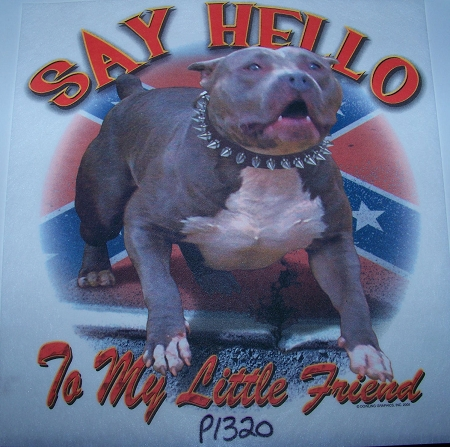 p1320 - Say hello to my little friend Tshirt
