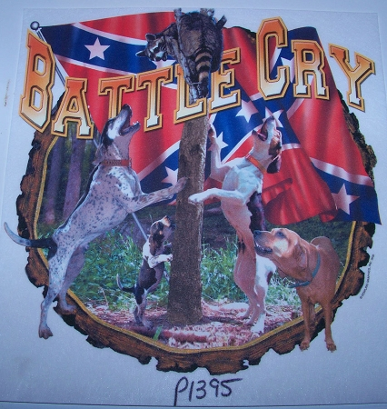 p1395 Battle Cry Tshirt