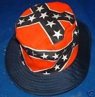 Rebel Confederate Battle Flag Bucket Hat - New