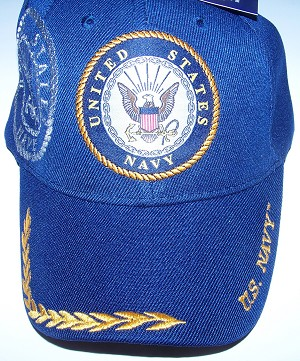 United States Navy Embroidered  Ball Cap -  Hat