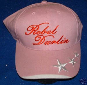 Pink Rebel Darlin Flag Hat - New