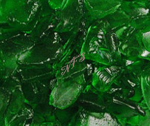 Emerald Green Sea Glass