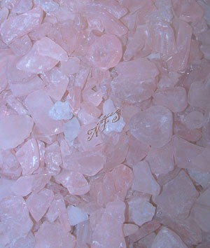 Pink and Ice Sea Glass