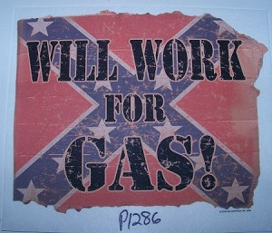 p1286 - Work for Gas Shirt